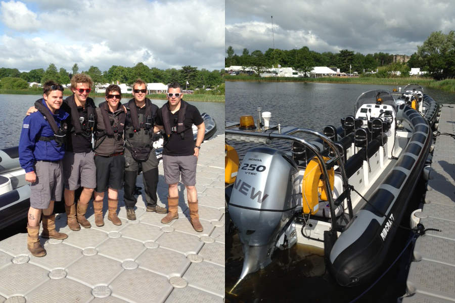 Rib rides at Cholmondeley Pageant of Power