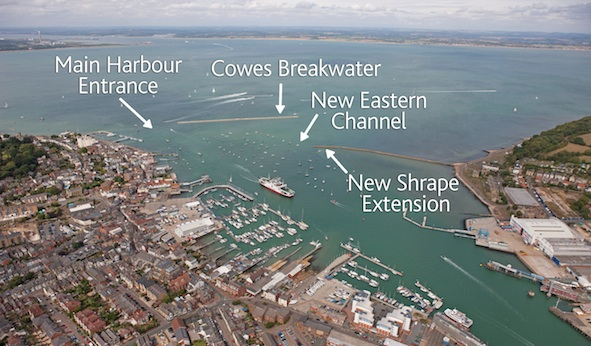 Cowes Breakwater Project