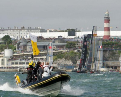 The America's Cup, coming soon to PORTSMOUTH!