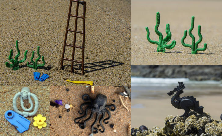 Lego on the beach