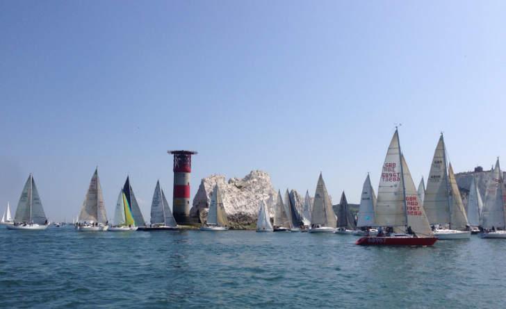 The Needles - Round The Island Race