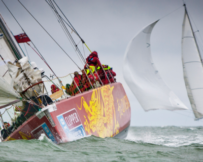 Clipper Round the World Race Start 2015