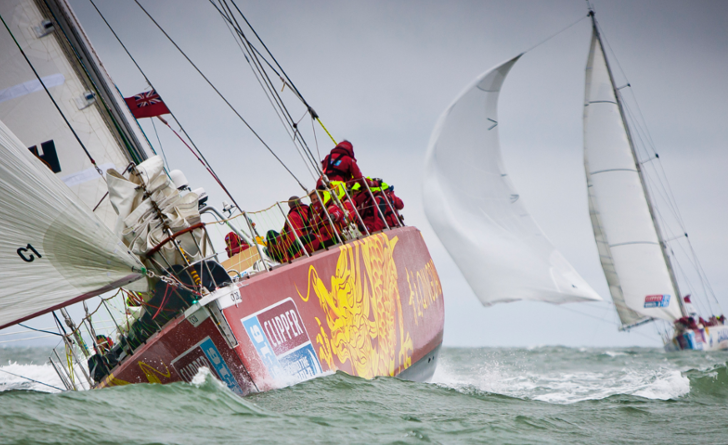 Clipper race start 2015