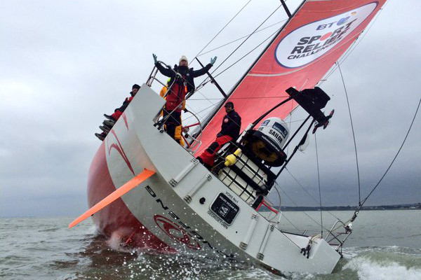 BT Sport Relief Challenge: `Hell on High Seas`