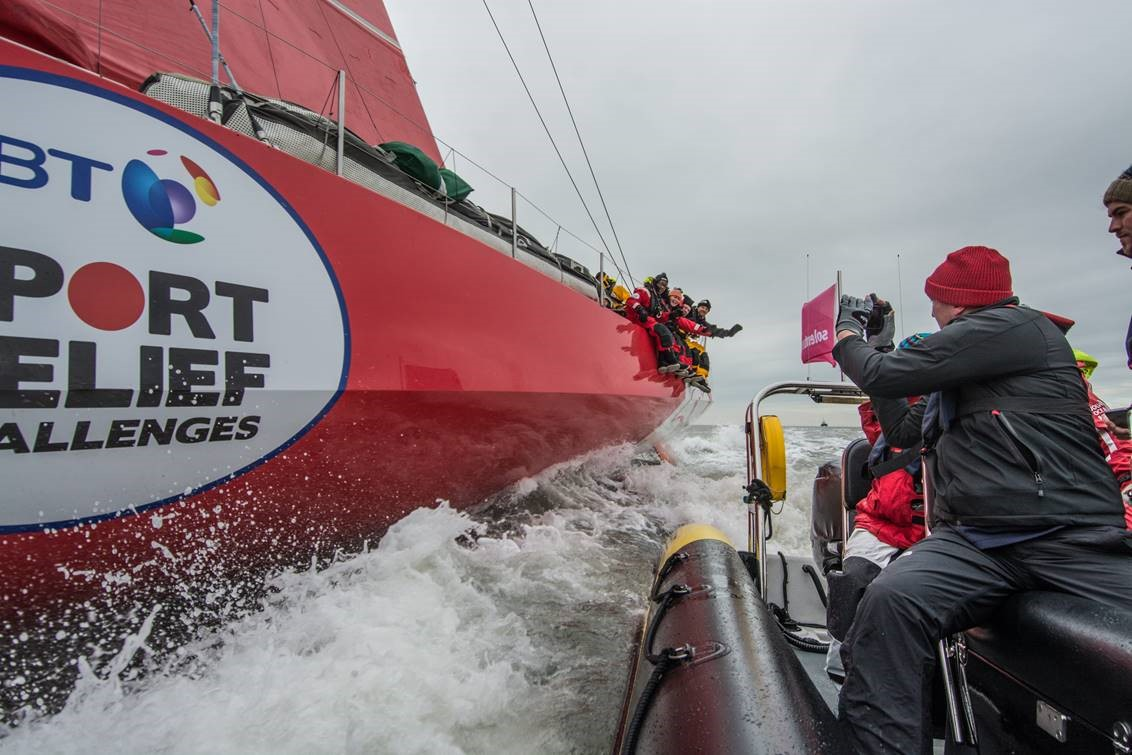 Sports Relief sailing