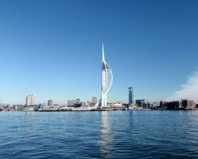 EMC Trust Spinnaker Tower Abseil!