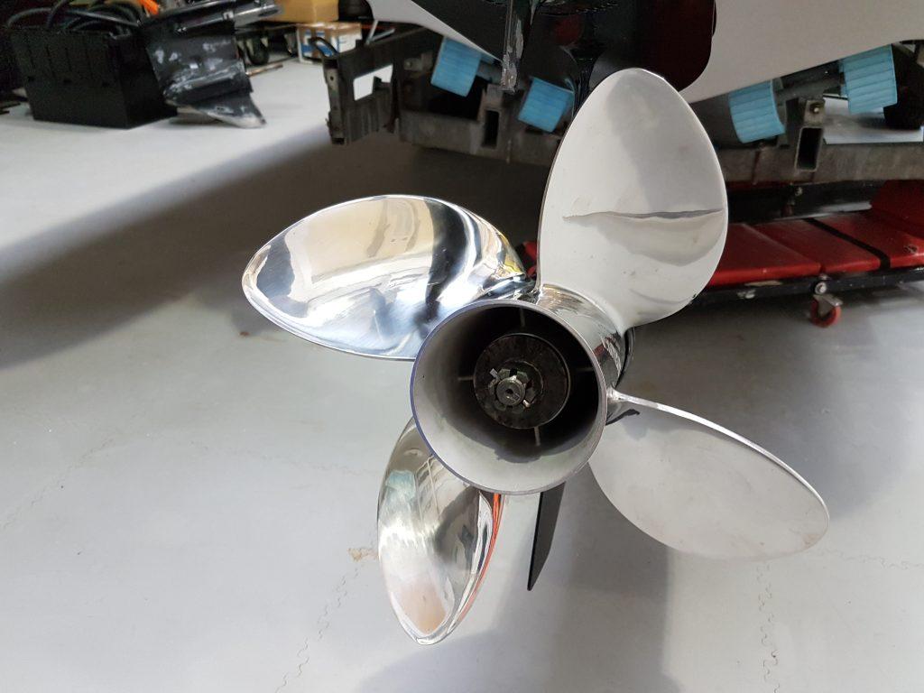 Rib refit - propeller