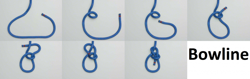 Useful knots- bowline