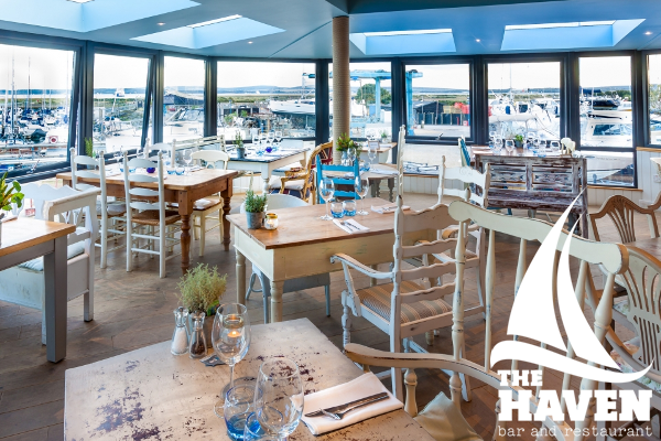 Solent dining - The Haven in Lymington