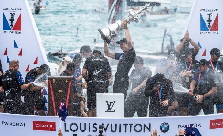 New Zealand Wins the 35th America's Cup