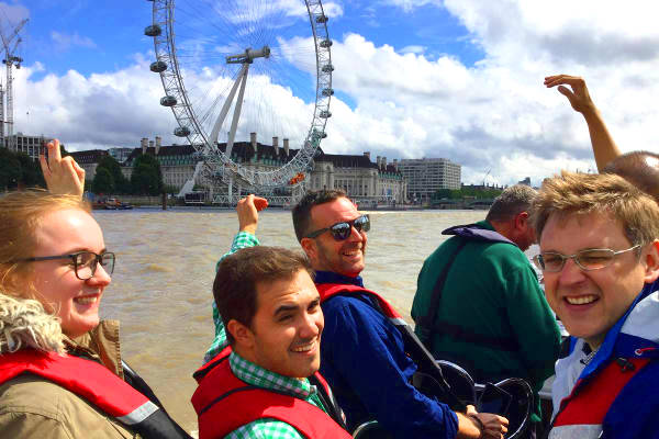 Treasure hunt on the Thames for Abellio