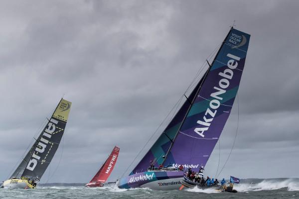 Cowes Week boats racing