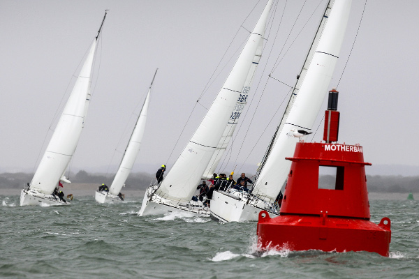 Whistling up a storm - Solent sailing