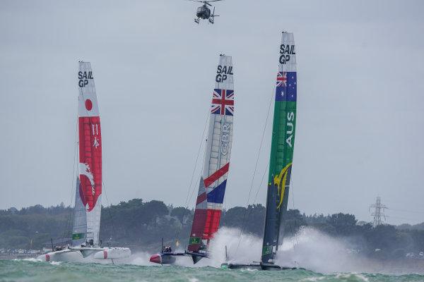 SailGP Cowes Raceday