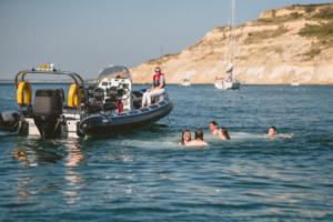 Bareboat swimmers